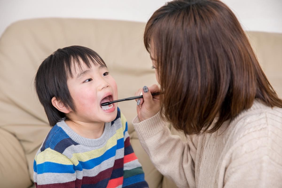 子どもの歯の磨き方について