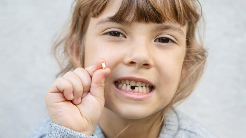 乳歯が抜けた際の習わし